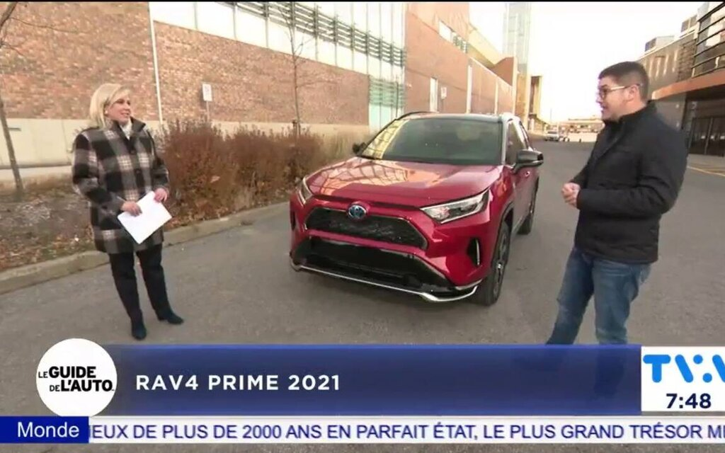 In video: Antoine Joubert presents the 2021 Toyota RAV4 Prime