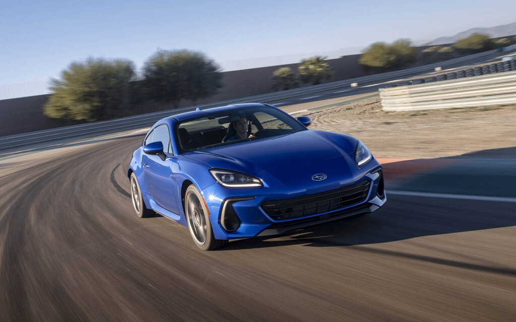 The Subaru BRZ 2022 unveils itself… without a turbo engine