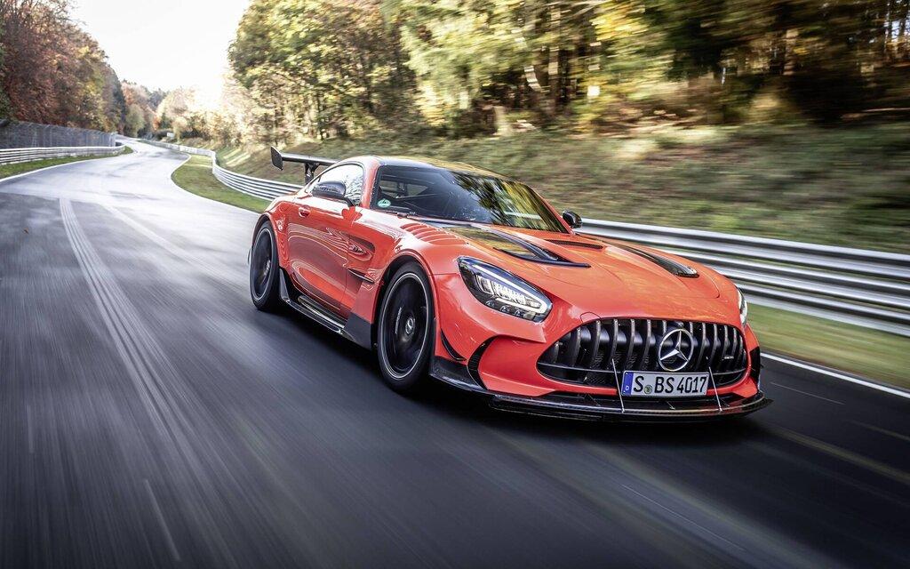In video: Mercedes-AMG GT Black Series breaks Nürburgring record