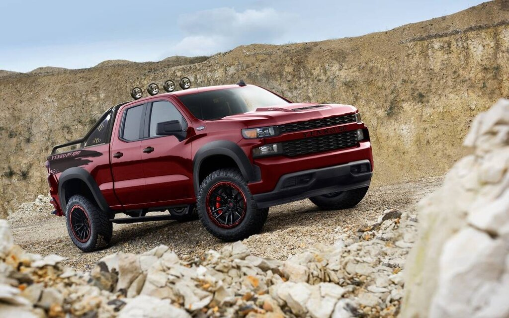 This 800 horsepower Silverado Yenko / SC is ready for the off-road