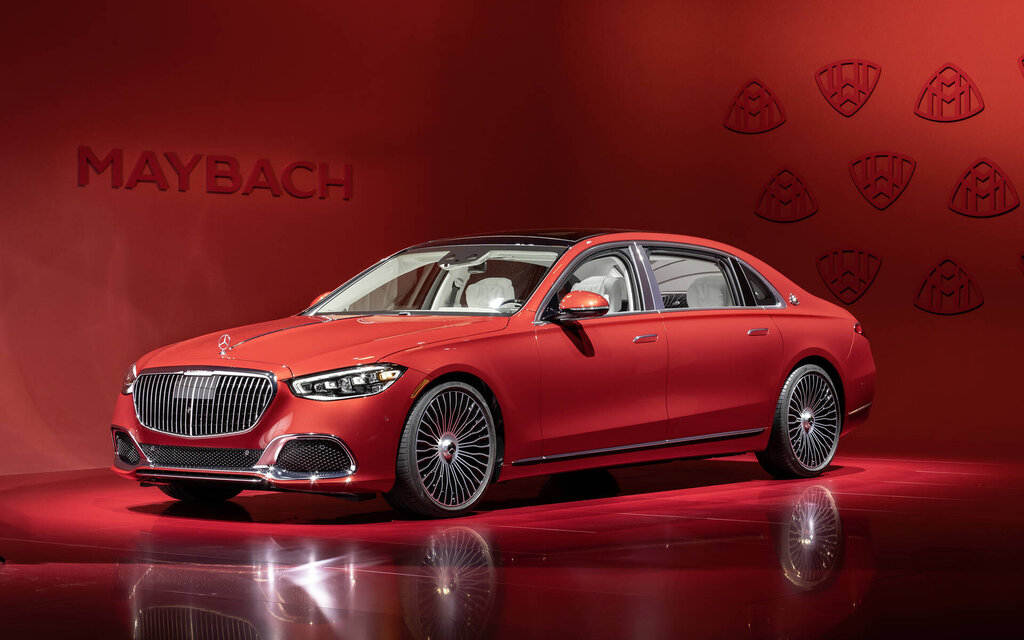 2021 Mercedes-Maybach S 580: you won't believe your eyes