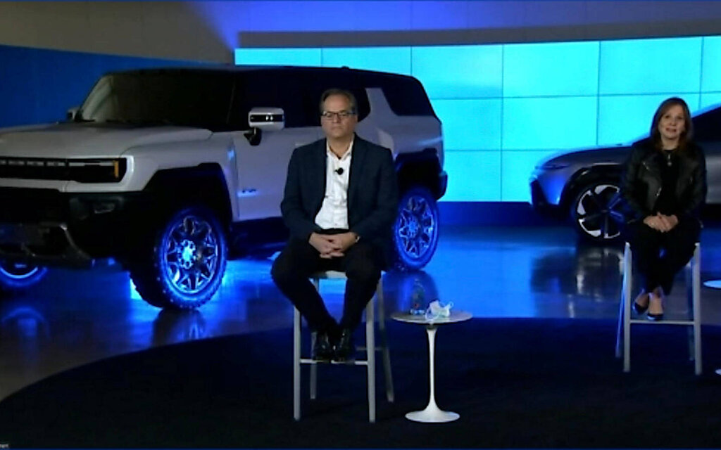 First Look at the Hummer EV SUV and Chevrolet Electric Truck