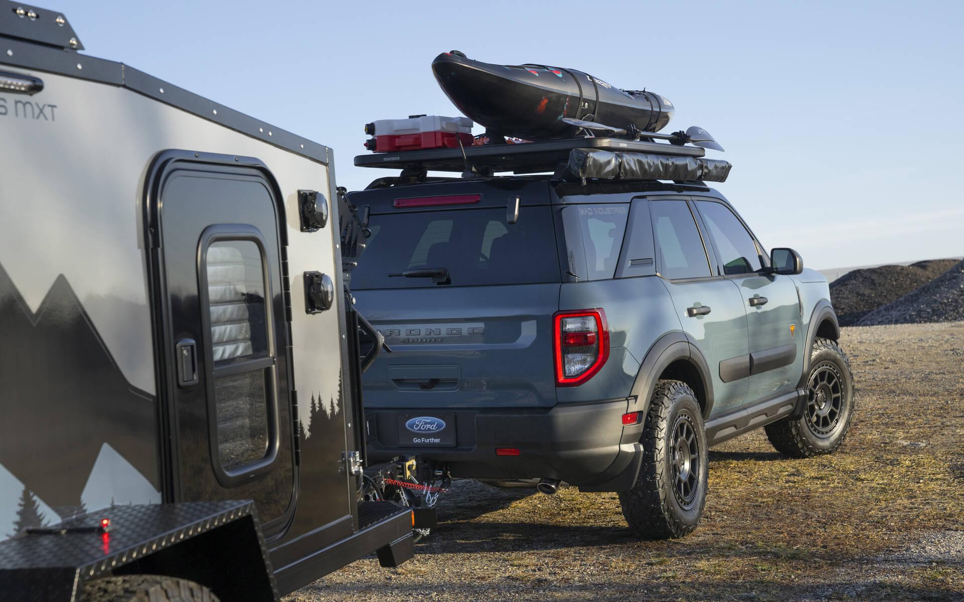 <p>Ford Bronco Sport par Mad Industries</p>