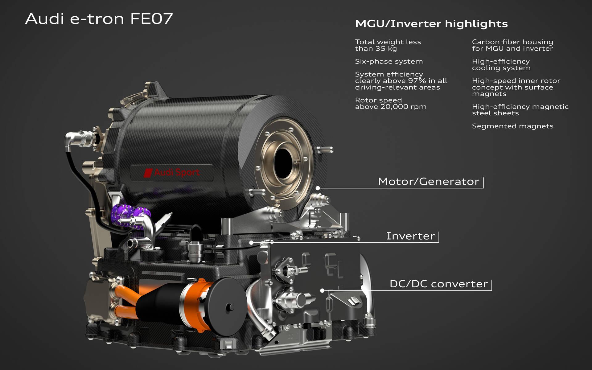 <p>Audi FE07 - Formule E Saison 7</p>