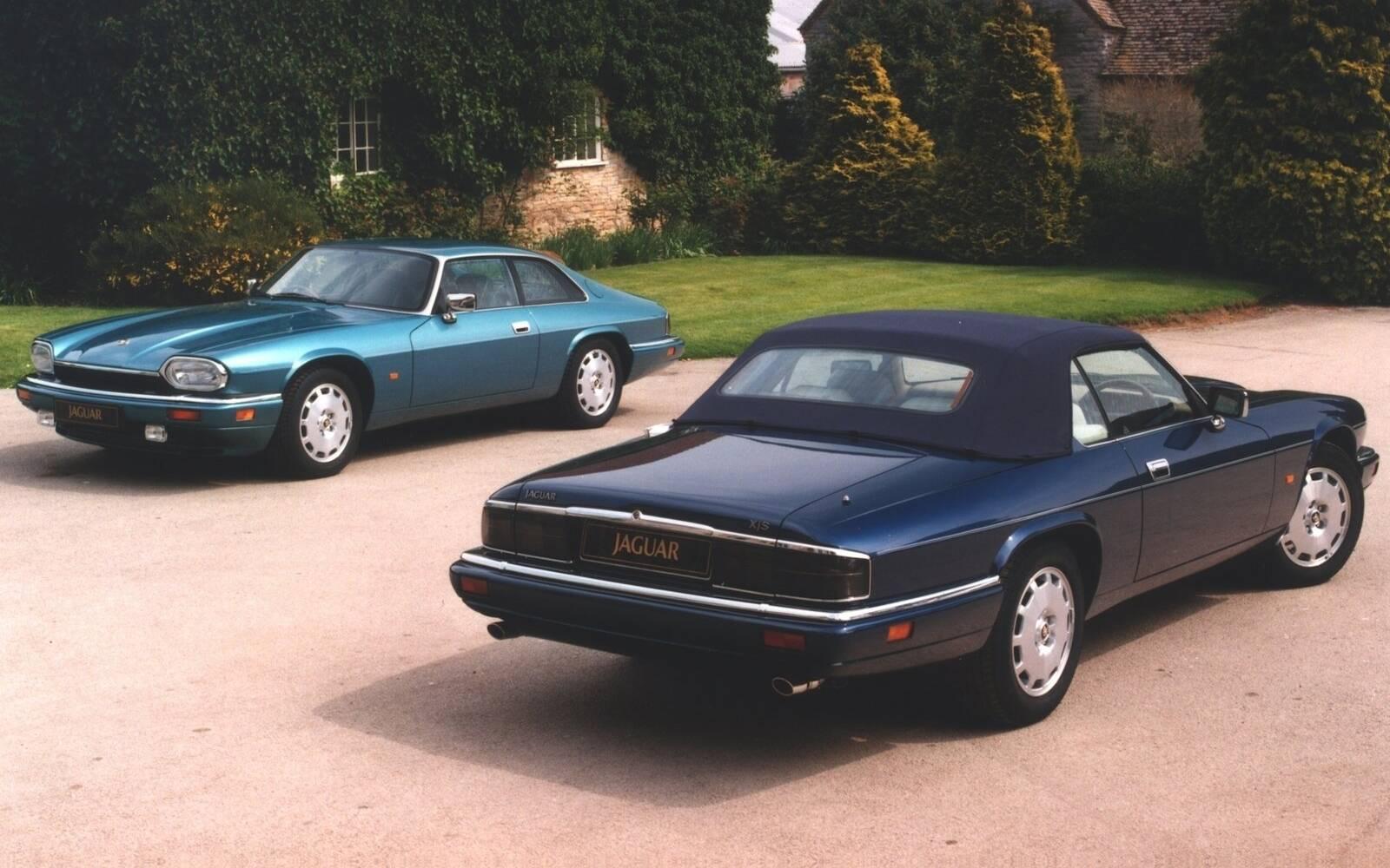 <p>Jaguar XJ-S 1996</p>