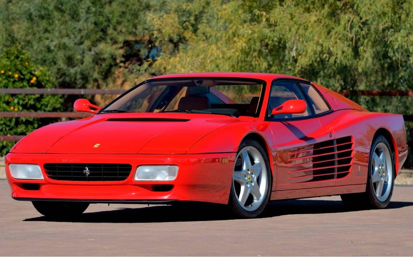 <p>Ferrari 512 TR 1992</p>