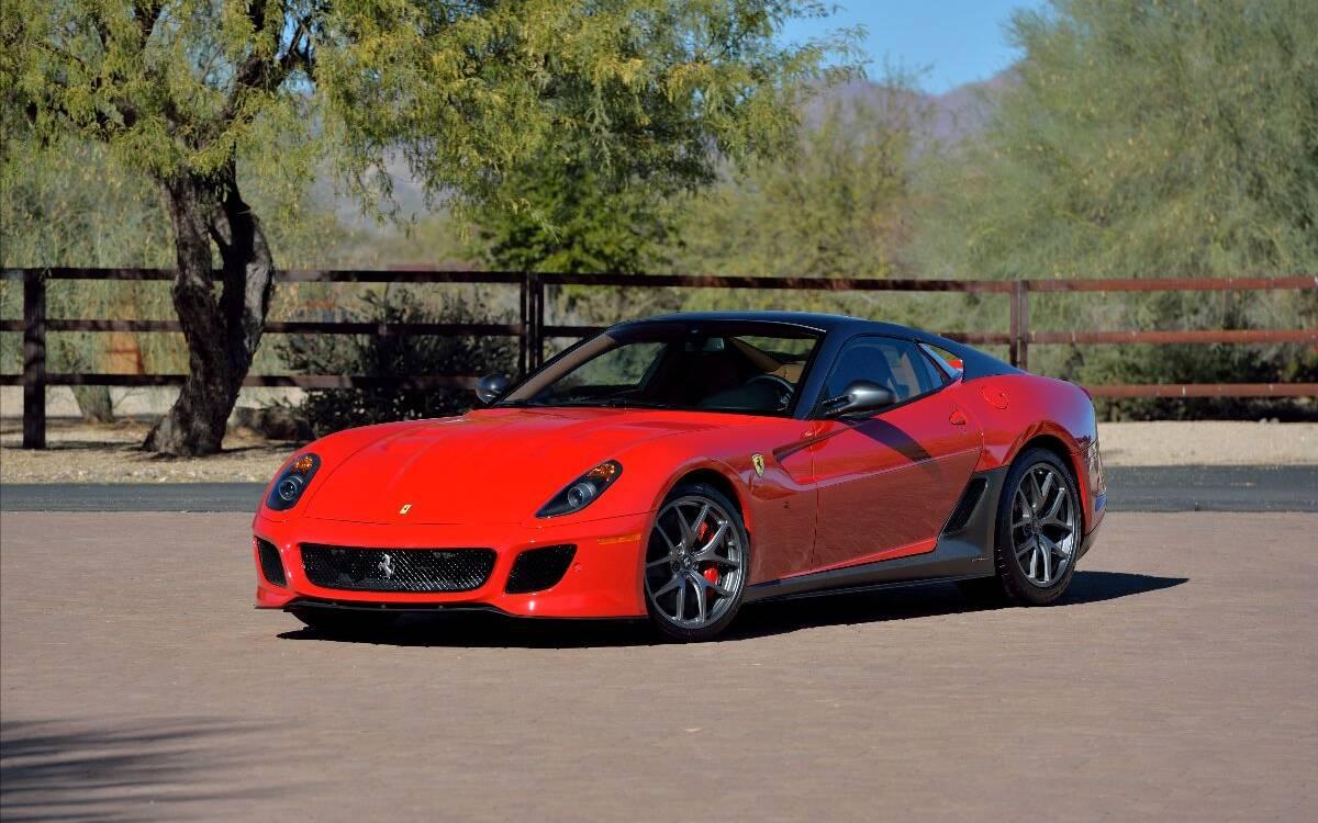 <p>Ferrari 599 GTO 2011</p>