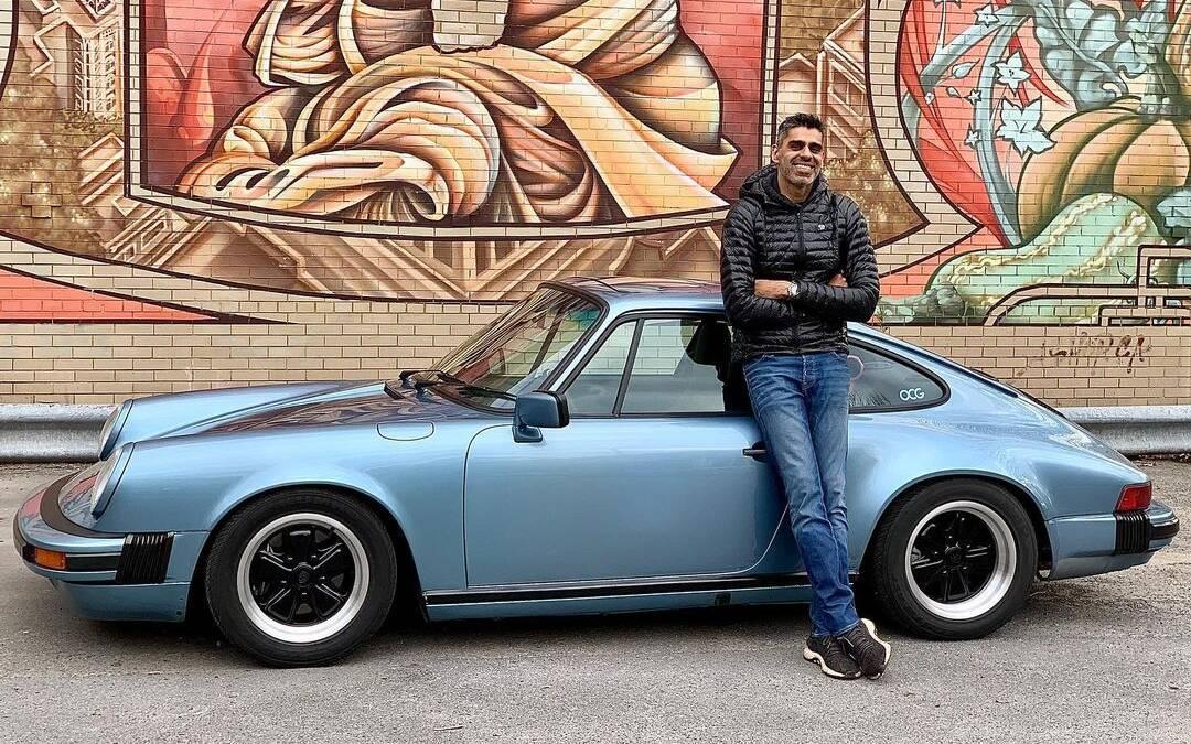 Amit Ahluwalia et sa Porsche 911
