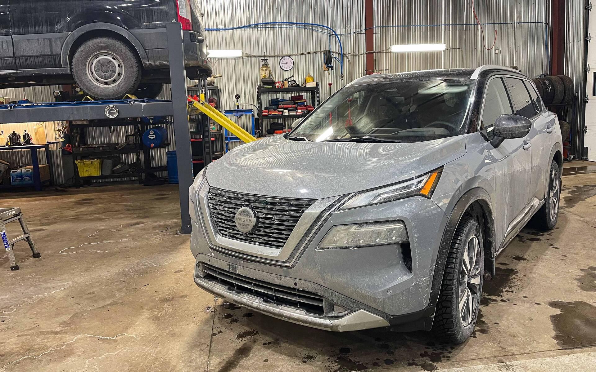 Le Nissan Rogue 2021, sur le point de nous livrer ses secrets!