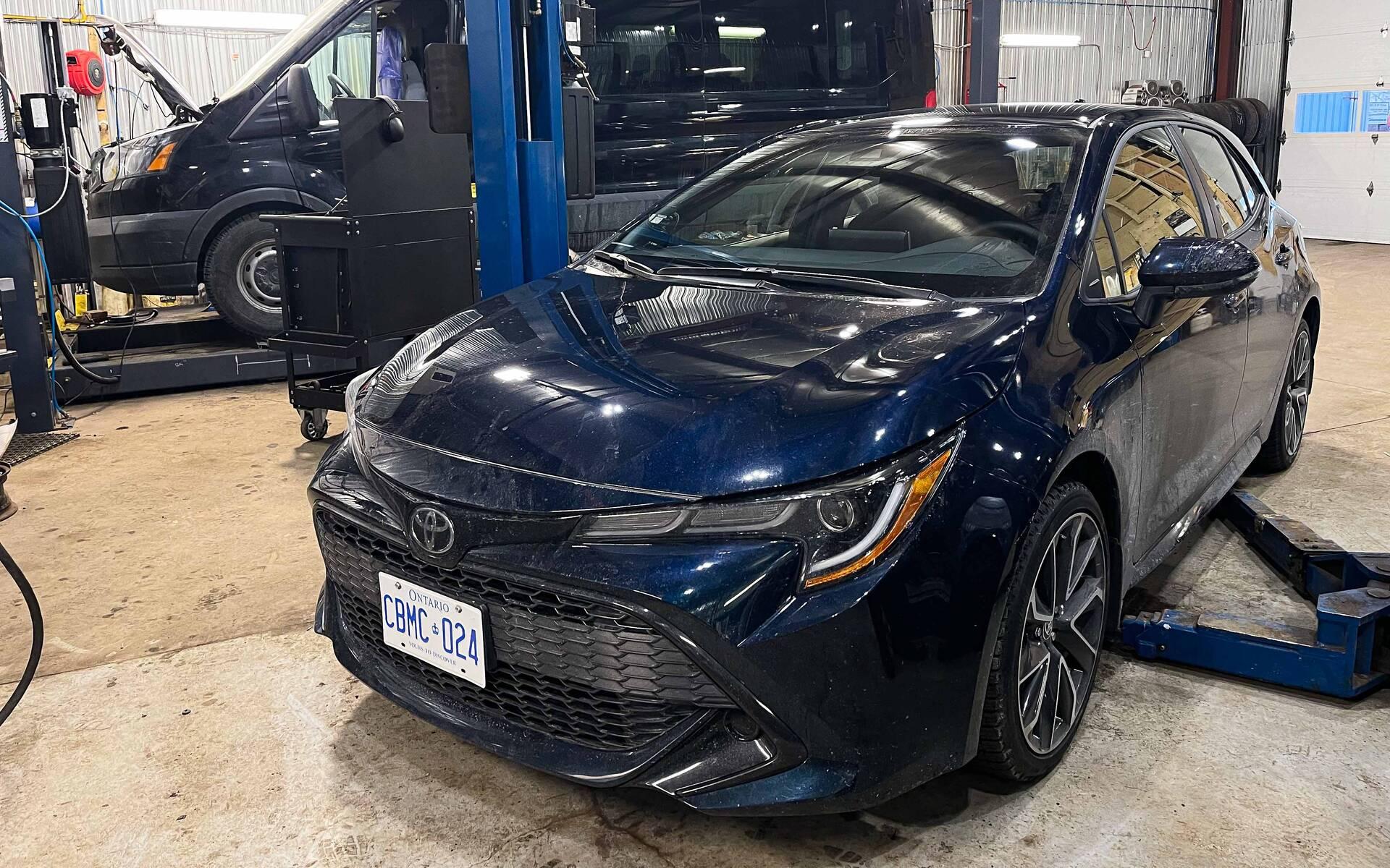 La Toyota Corolla 2021, sur le point de nous livrer ses secrets!