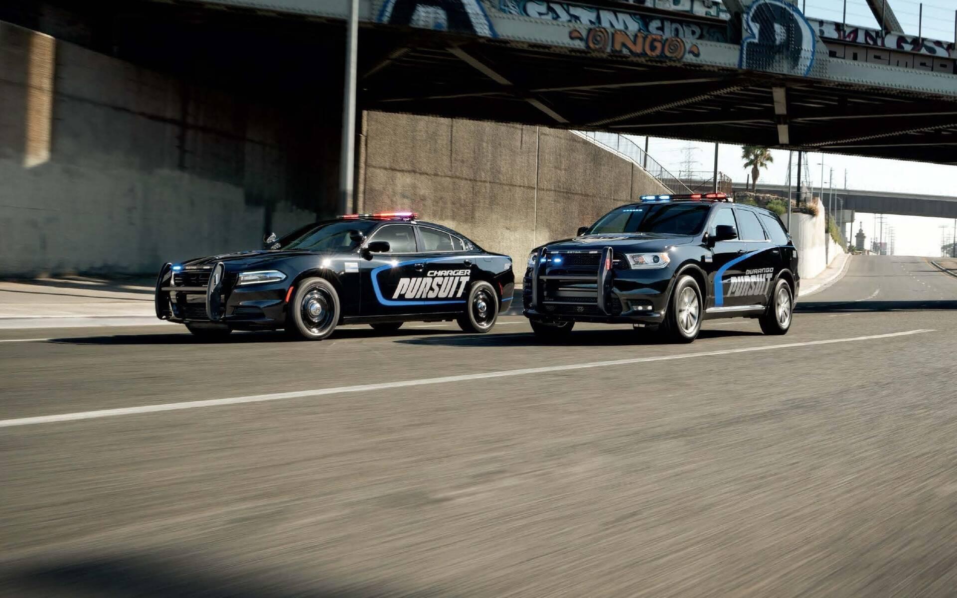 <p>Dodge Charger Pursuit and Durango Pursuit (USA)</p>