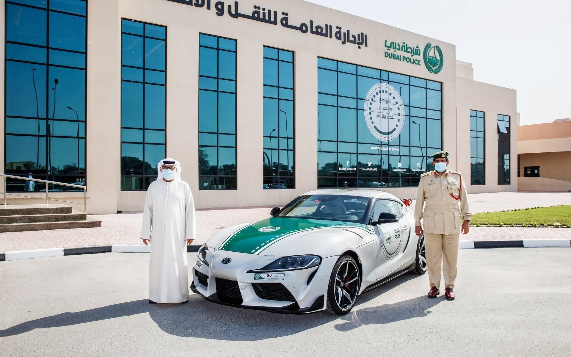 <p>Toyota GR Supra (Dubai)</p>