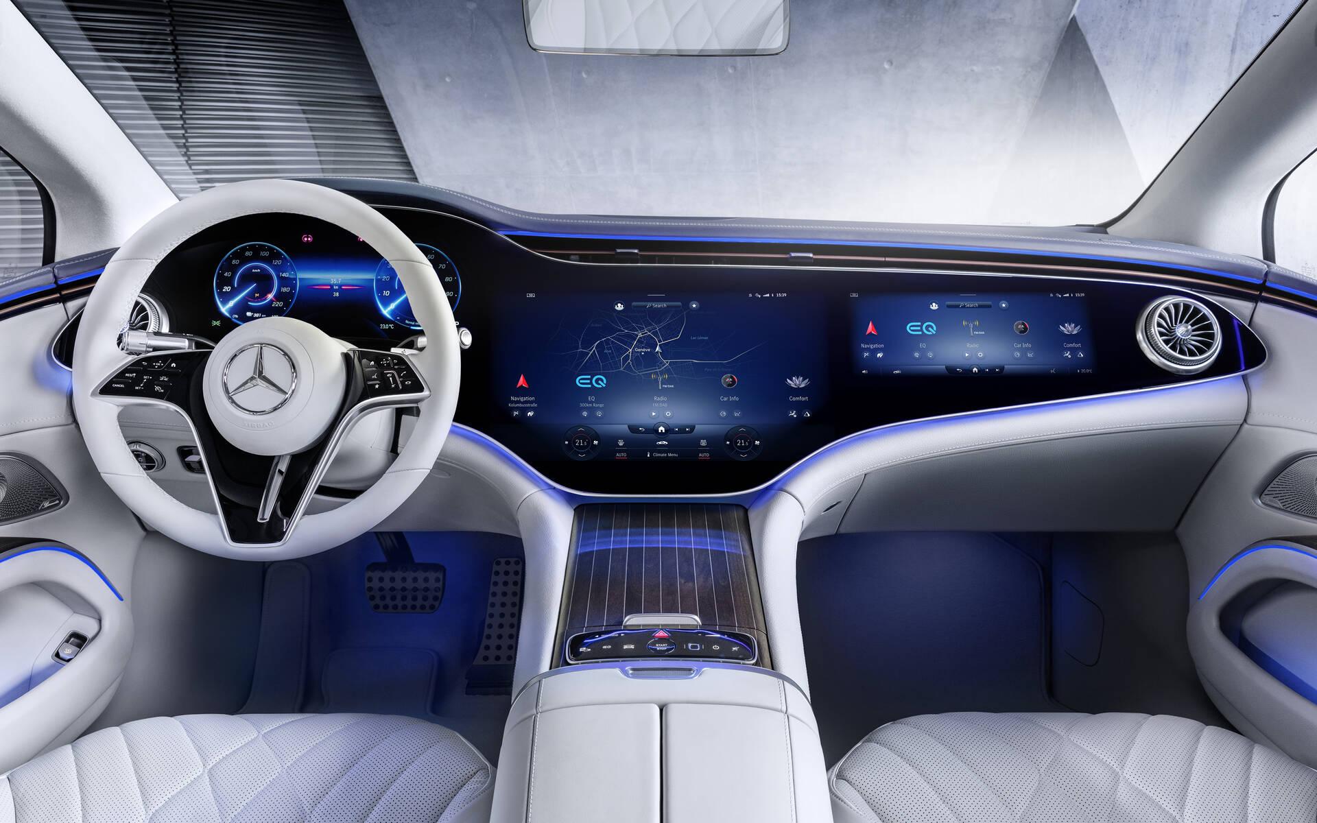 <p>Mercedes-Benz EQS</p>