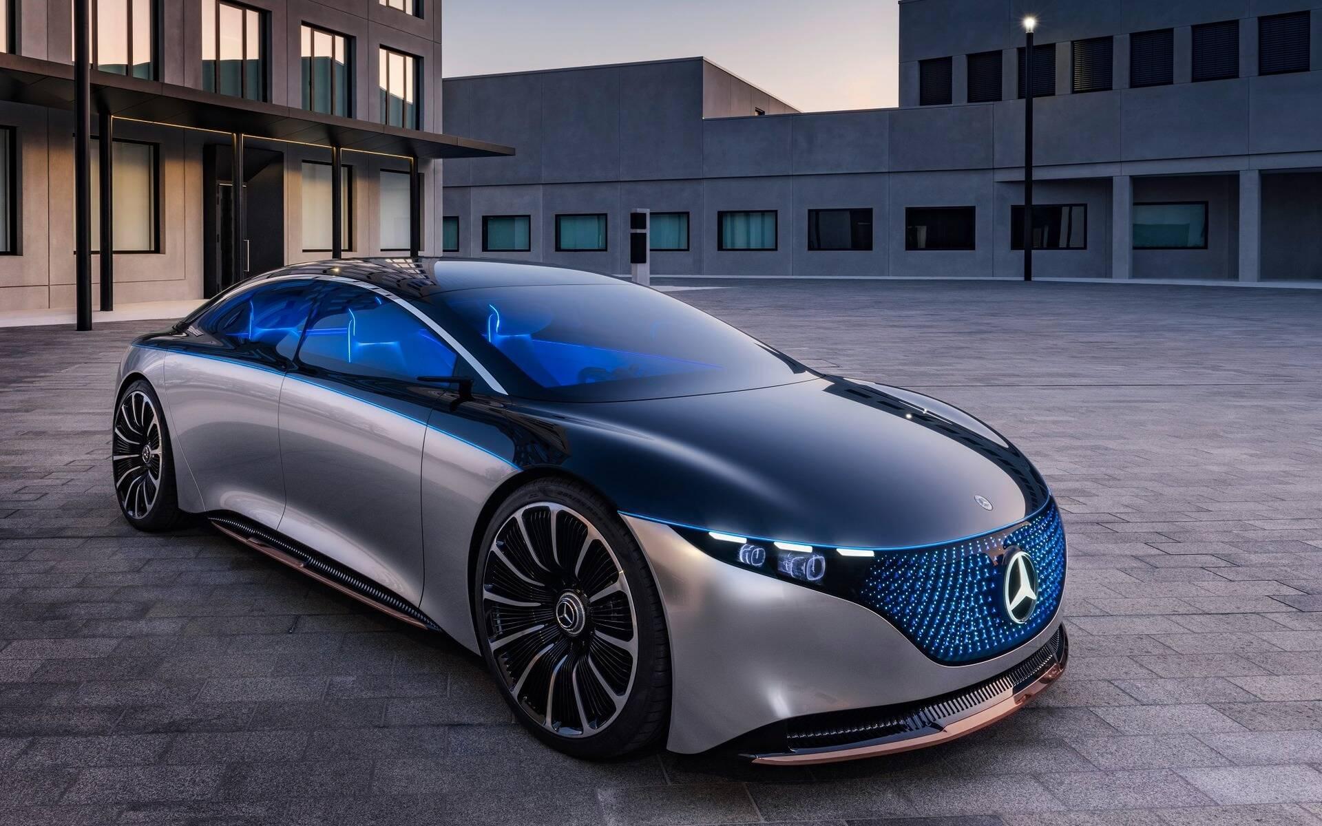 <p>Mercedes-Benz Concept Vision EQS</p>