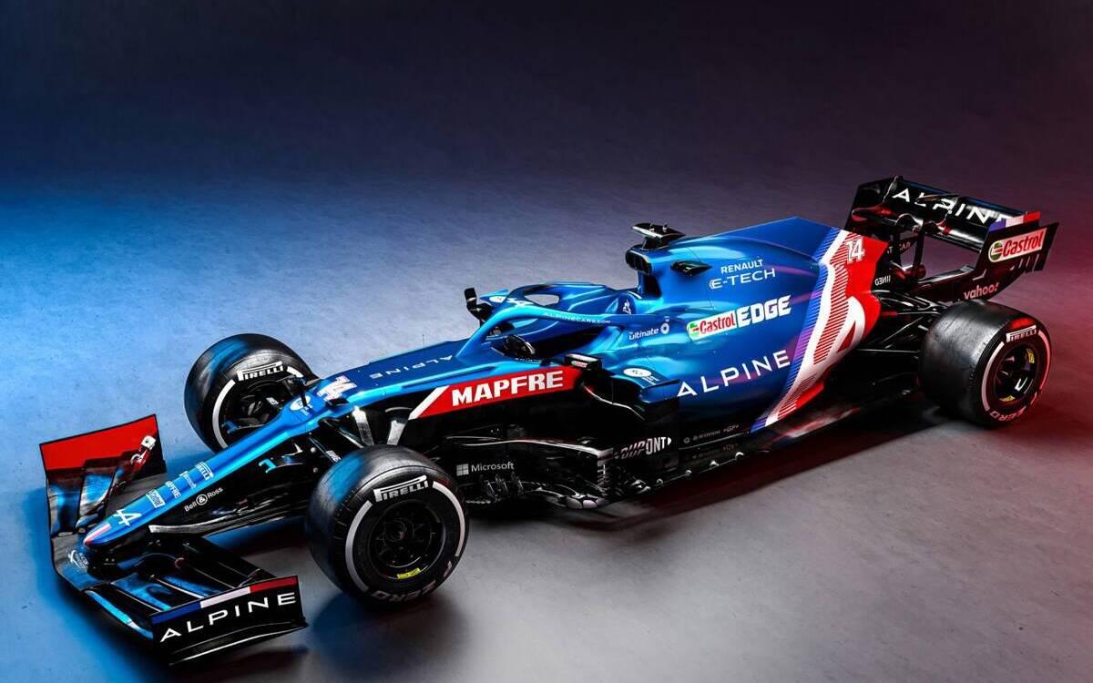<p>Alpine F1</p>