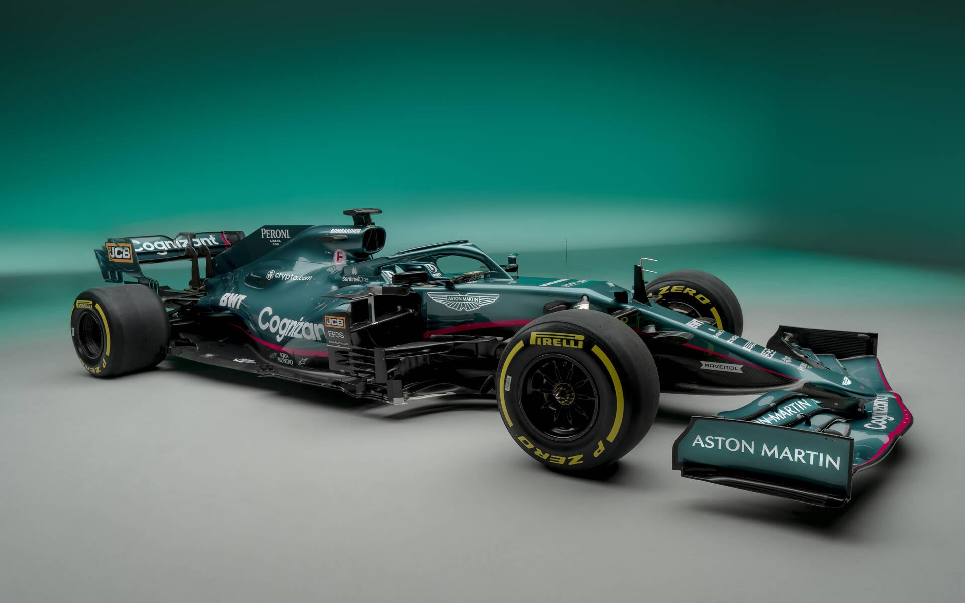 <p>Aston Martin Cognizant F1</p>