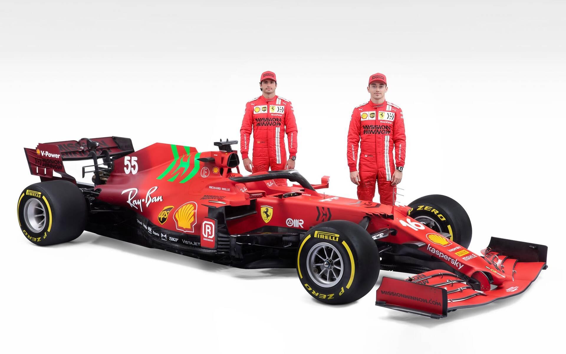 <p>Scuderia Ferrari</p>