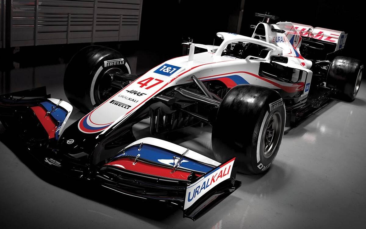 <p>Haas F1</p>