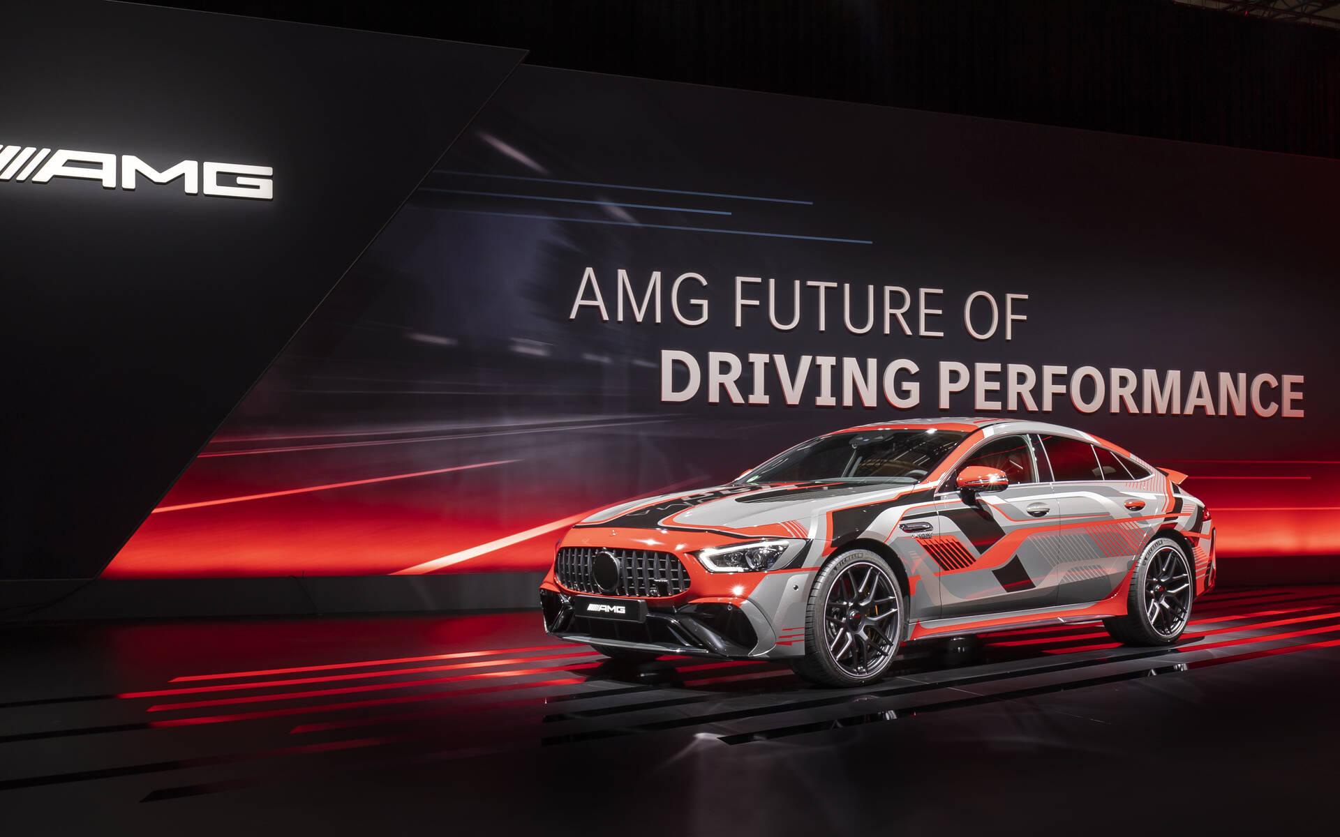Mercedes-AMG - La stratégie E Performance