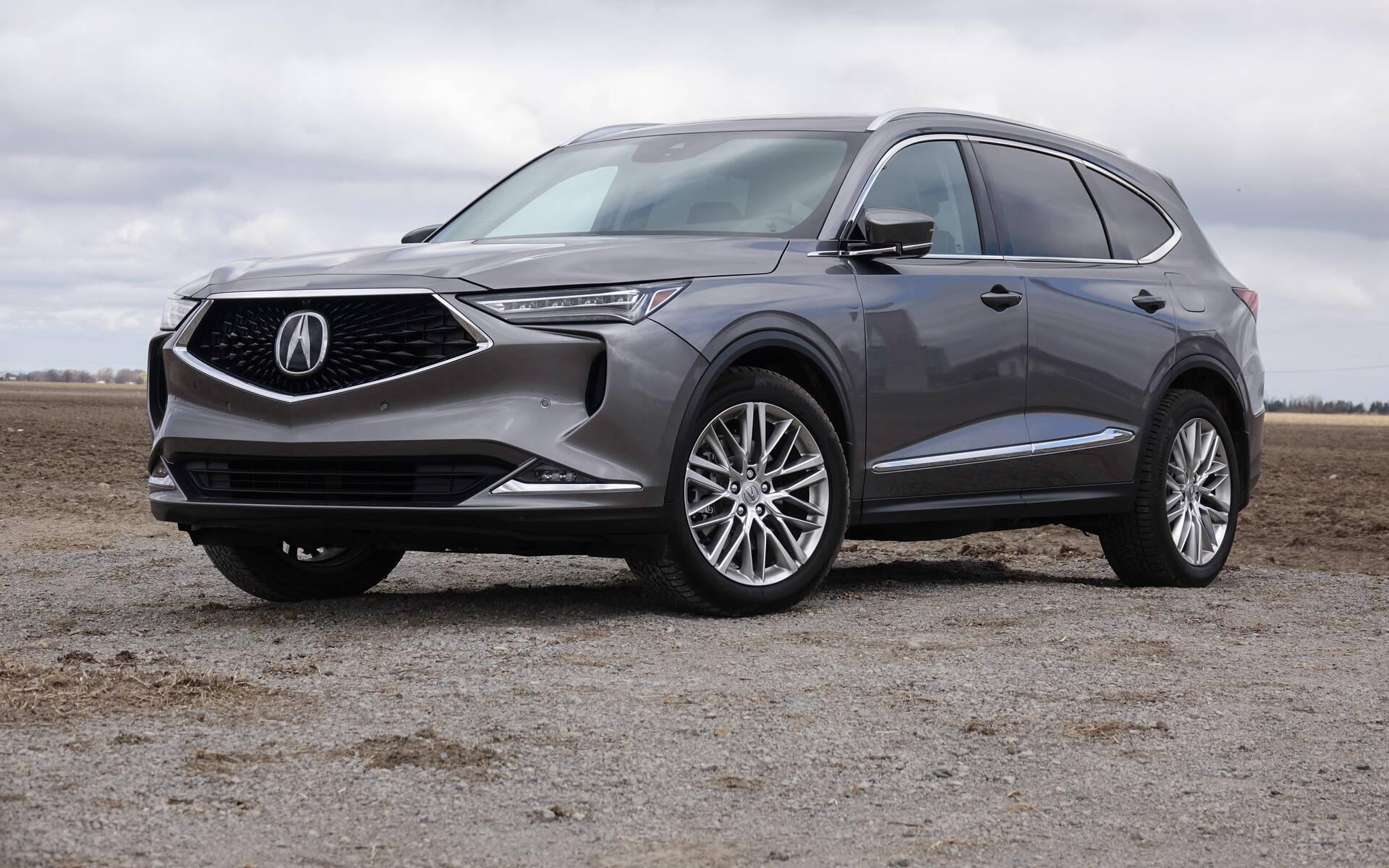 Acura MDX Platinum Elite 2022