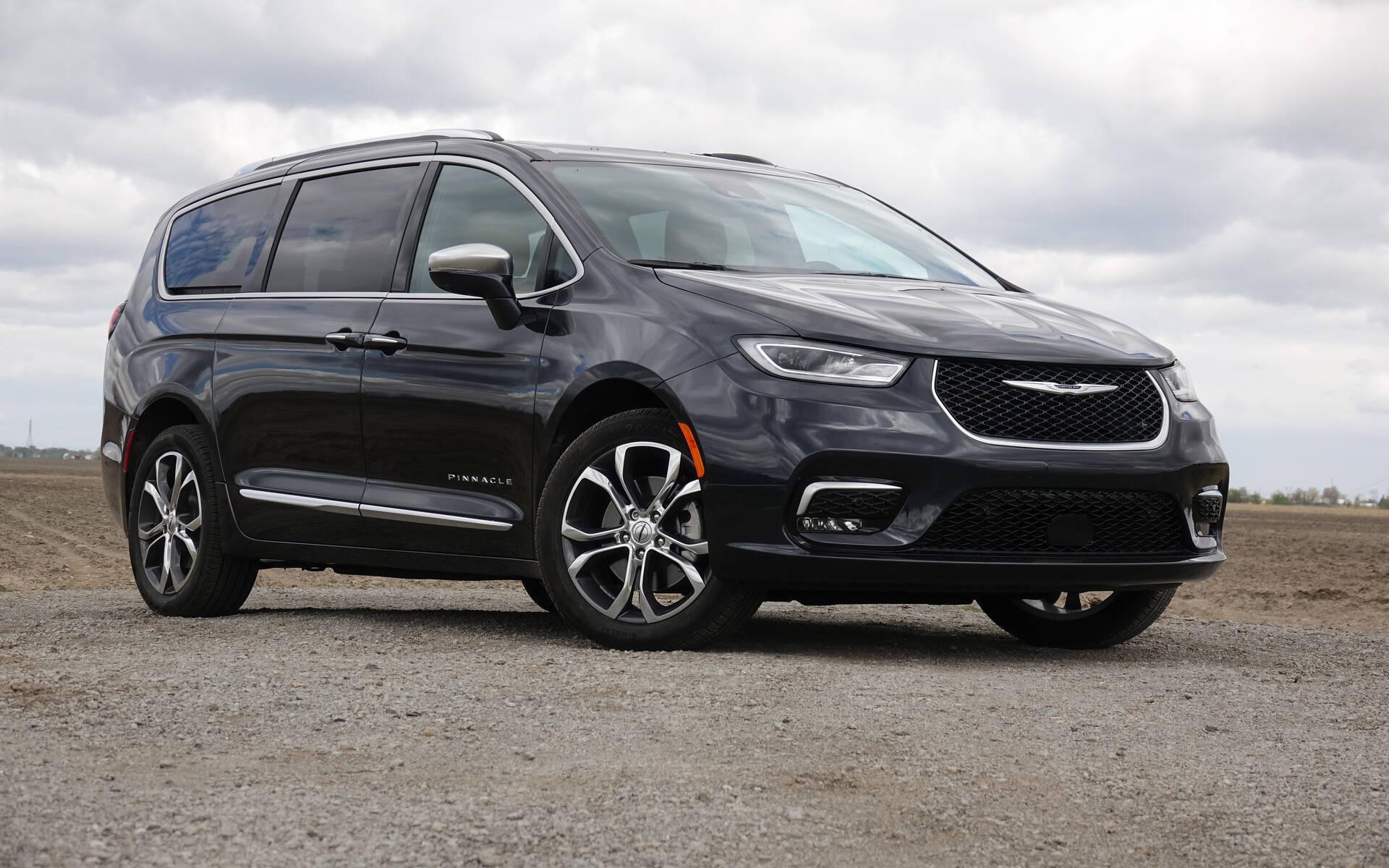 Chrysler Pacifica Pinnacle AWD 2021