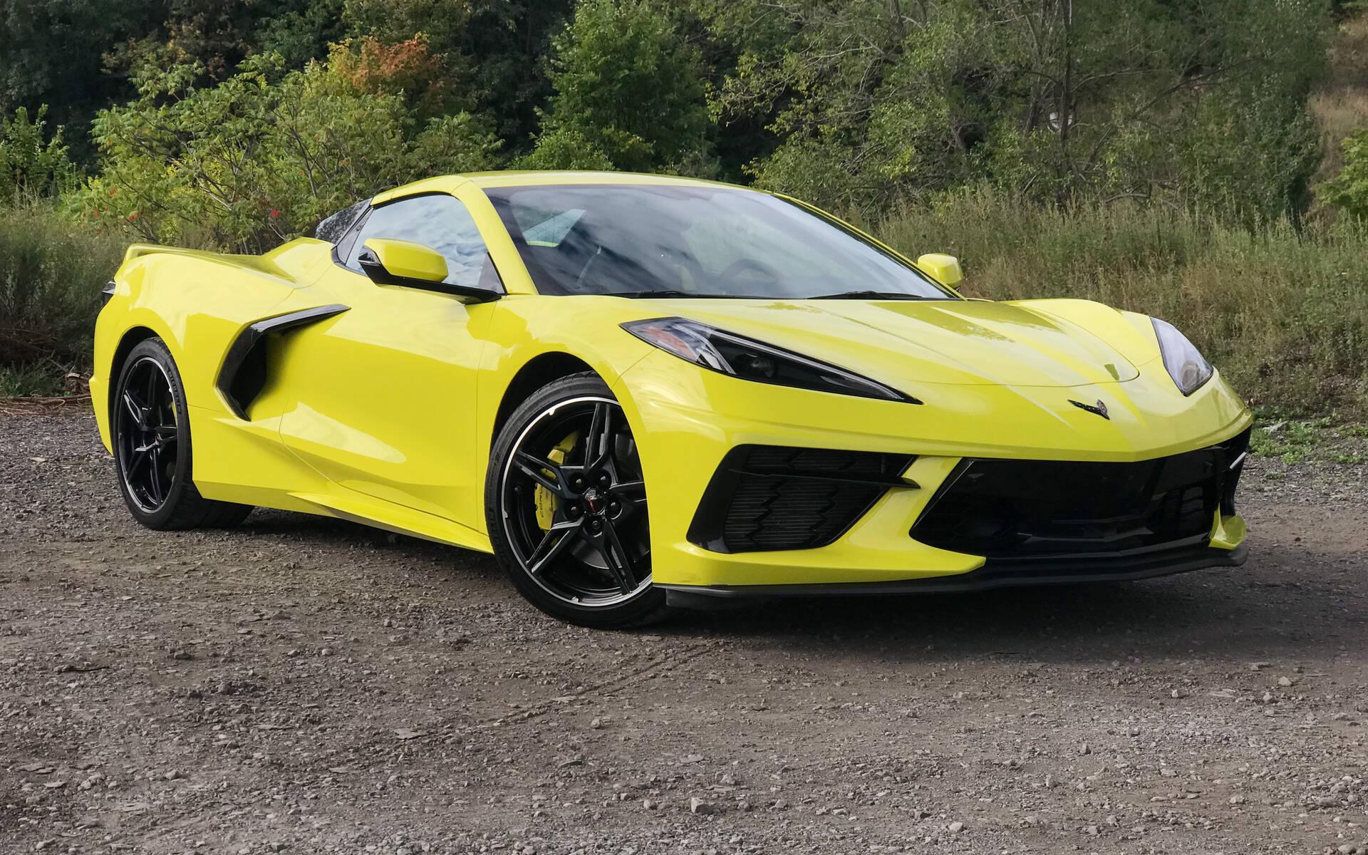 Corvette Stingray décapotable 2021
