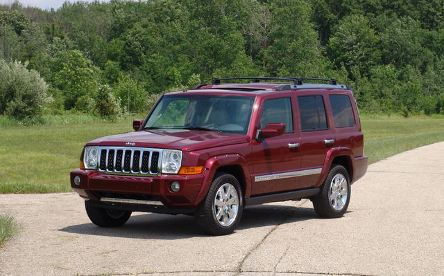 jeep commander owners manuals