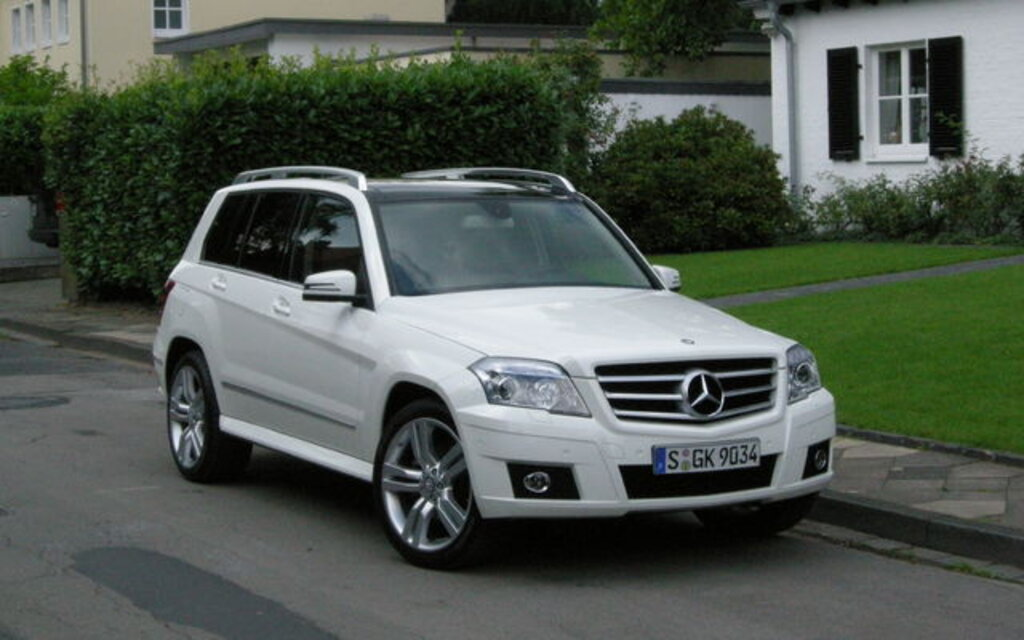 Mercedes Benz GLK Class. All Photos