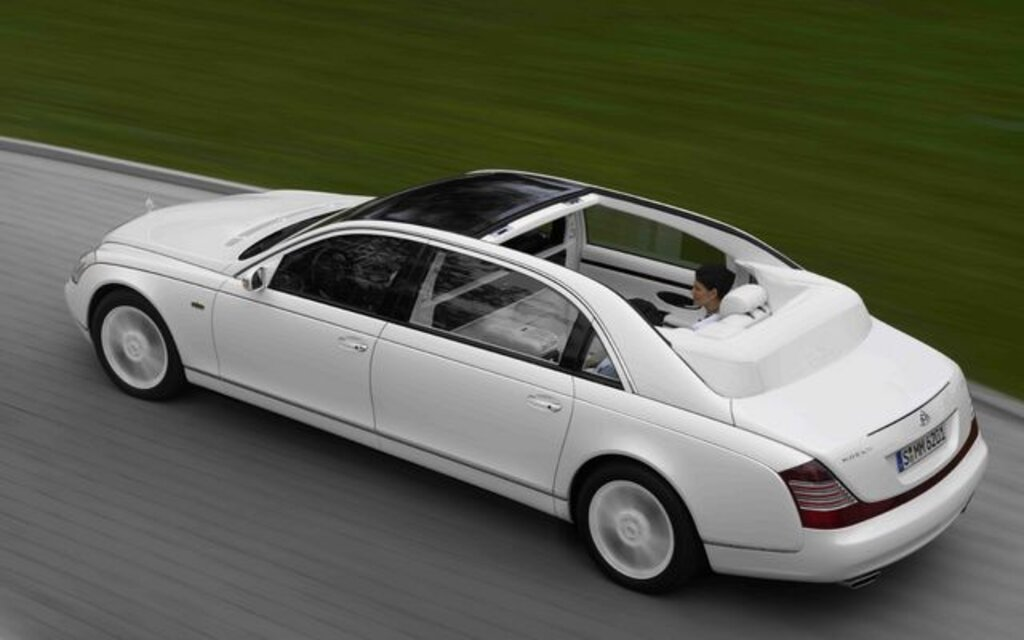 2009 Maybach 57 - 62 57 Specifications - The Car Guide
