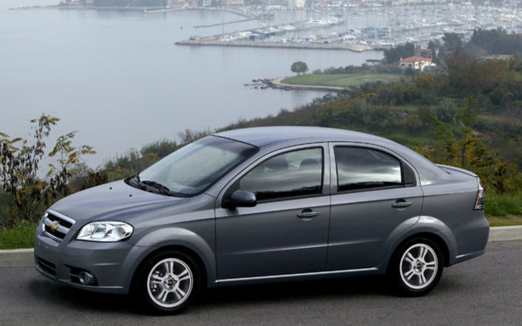 2009 Chevrolet Aveo Lt Sedan Specifications The Car Guide