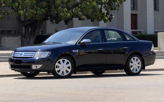 2009 ford taurus limited antifreeze