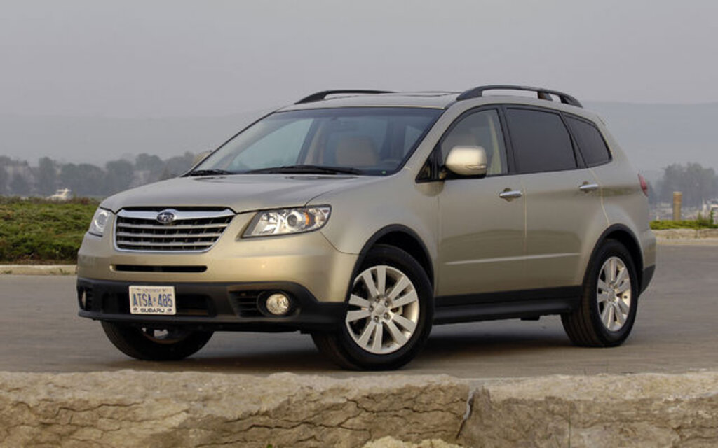 subaru tribeca 2009 essais actualit galeries photos et vid os guide auto. Black Bedroom Furniture Sets. Home Design Ideas