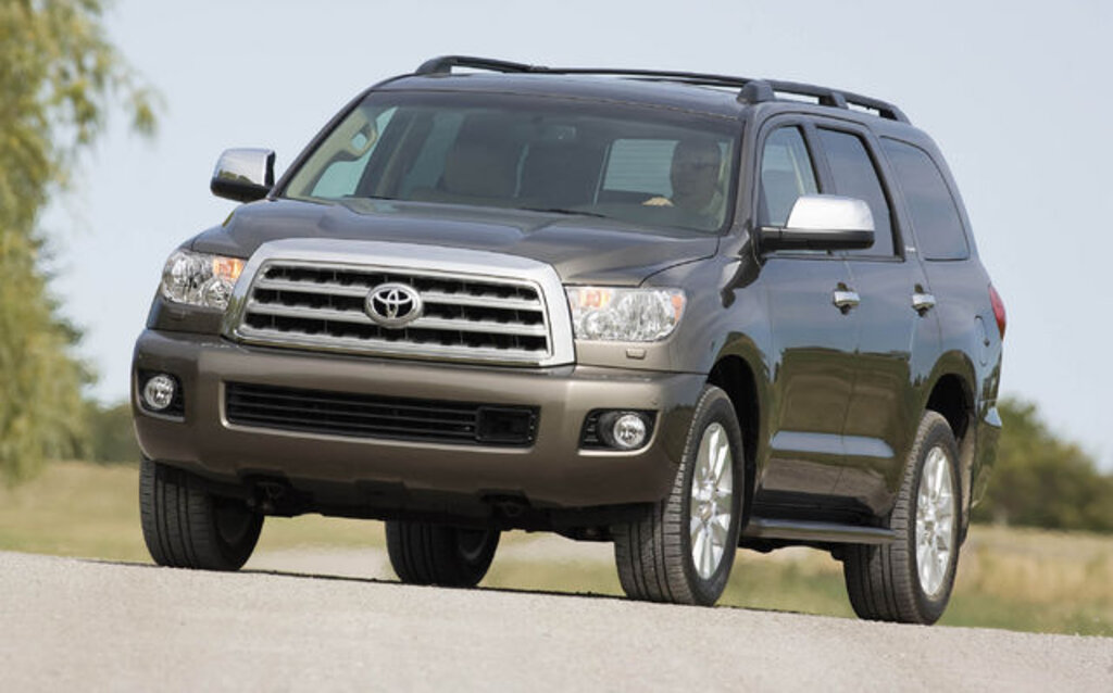 2009 toyota sequoia news reviews picture galleries and videos the car guide. Black Bedroom Furniture Sets. Home Design Ideas