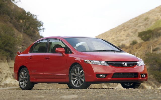 2009 Honda Civic Sport Sedan Man Specifications The Car Guide