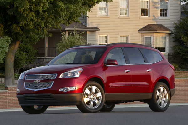 2010 Chevrolet Traverse Photos 1 6 The Car Guide