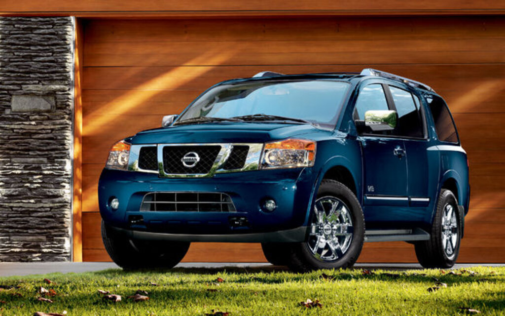 sp cifications nissan armada platine 2010 guide auto. Black Bedroom Furniture Sets. Home Design Ideas