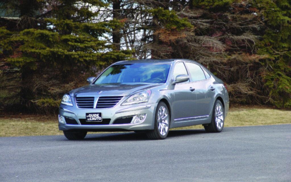 201 Valuation Hyundai Equus 2012 Guide Auto
