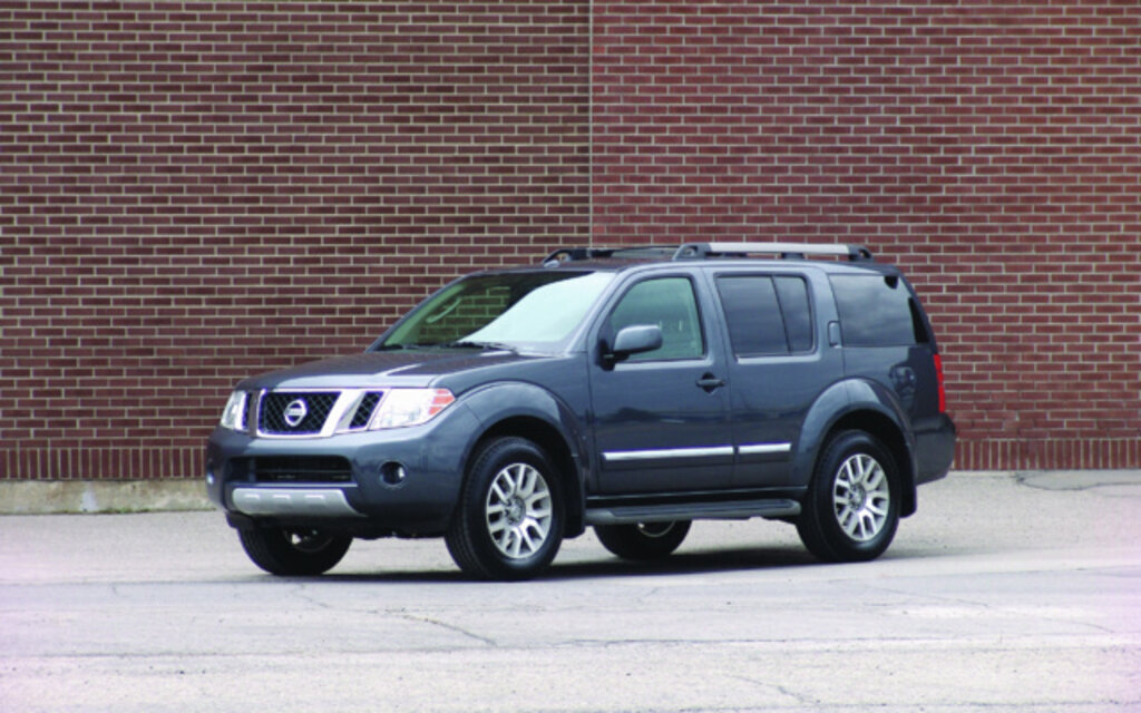2012 Nissan Pathfinder - News, reviews, picture galleries