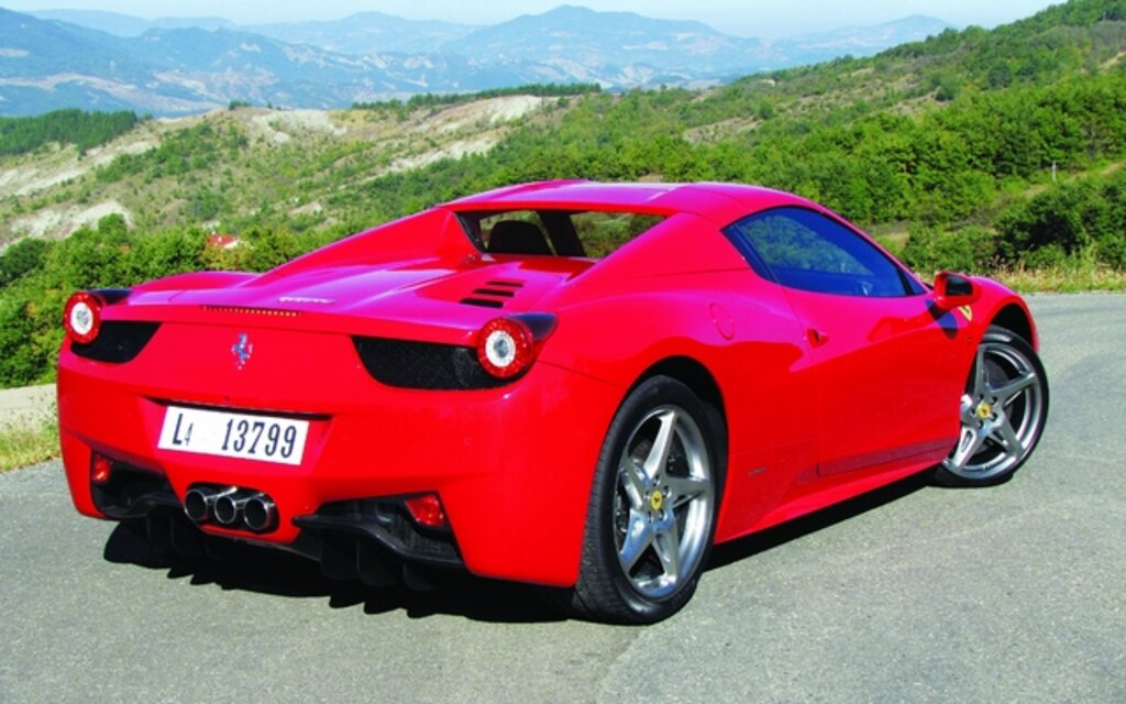 2013 Ferrari 458 Spider Specifications The Car Guide