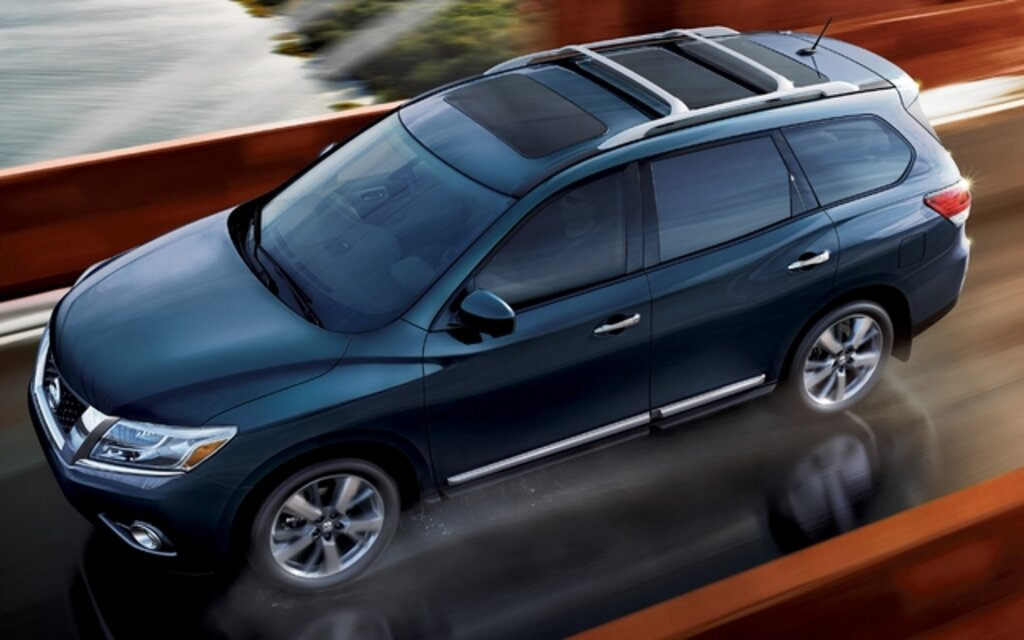 Nissan Pathfinder. All Photos
