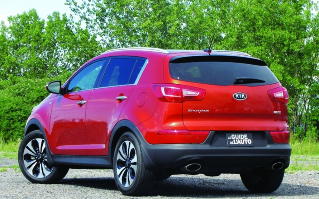 Kia Sportage. All Photos