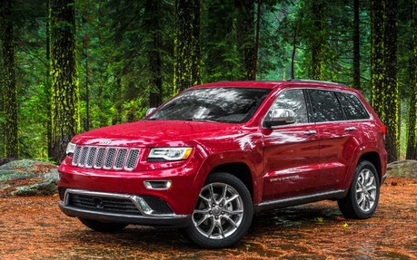 2014 jeep grand cherokee curb weight