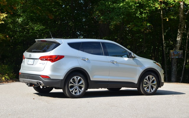 2014 Hyundai Santa Fe >> Photos Hyundai Santa Fe 2014 - 2/4 - Guide Auto