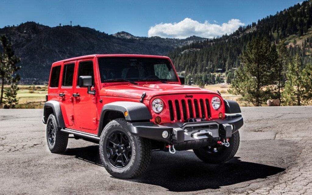 Jeep Wrangler. All Photos