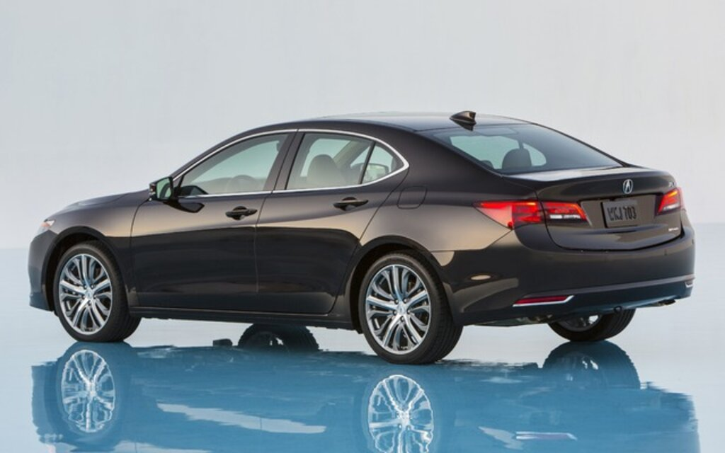 2015 acura tlx base specifications the car guide. Black Bedroom Furniture Sets. Home Design Ideas
