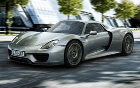 porsche 918 2015 essais actualit galeries photos et vid os guide auto. Black Bedroom Furniture Sets. Home Design Ideas