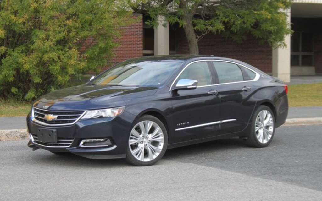 valuation chevrolet impala 2015 guide auto. Black Bedroom Furniture Sets. Home Design Ideas