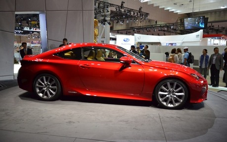 2016 Lexus RC 350 AWD - Price, engine, full technical specifications ...