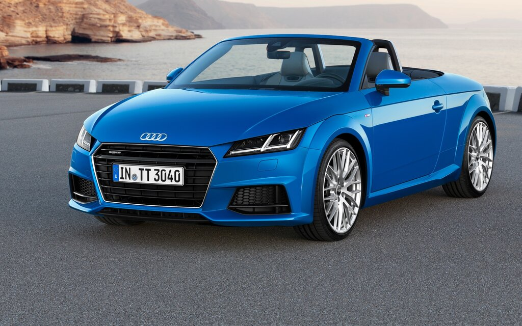 audi tt 2016 essais actualit galeries photos et vid os guide auto. Black Bedroom Furniture Sets. Home Design Ideas