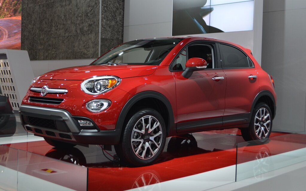 Fiat 500x specification